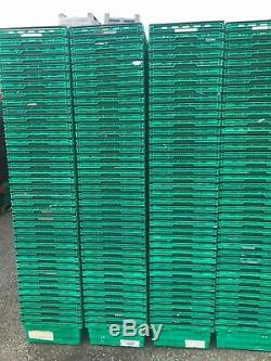100 x Used Bale Arm Trays Bale Arm Crates 600 x 400 x 200 Storage Boxes