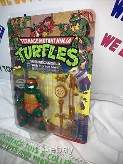 1991 Teenage Mutant Ninja Turtles Storage Shell Michaelangelo- Unpunched
