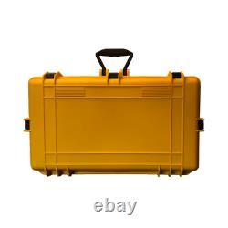 4 Pack XXL Graded Card Storage Box PSA BGS SGC Yellow Weatherproof Case