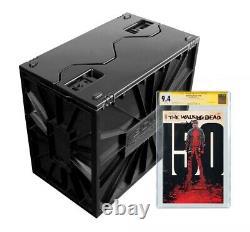 5 BCW Graded Comic Book Bins Black Plastic Storage Box