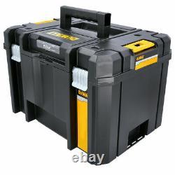 5 x Dewalt DWST1-71195 T-Stak VI Deep Tool Storage Box 23L Without Tote Tray
