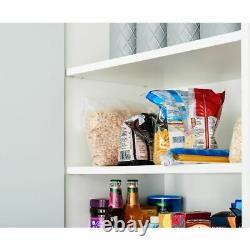 5Pcs Food Containers Plastic Takeaway Microwave Freezer Safe Storage Boxes Lids