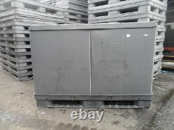 Collarpack Hd Large Plastic Pallet Box Storage Container 1 Tonne Set Of 5
