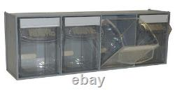 Complete Tilt Bin Van Kit (16 Compartments). Small Parts Bins