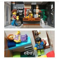 Custom Modular Building Sporting Store Apartment For Lego 10185 Green Grocer Ho