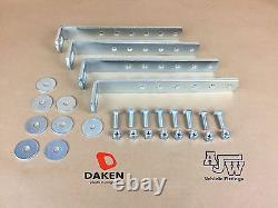DAKEN JUST 750/350/450 Tool Box + BRACKETS Truck Storage Box Lorry Side Locker