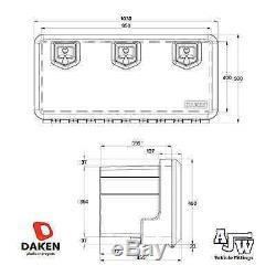 DAKEN WELVET 1030/500/455 Tool Box Truck Storage Box Lorry Tool Case Side Locker