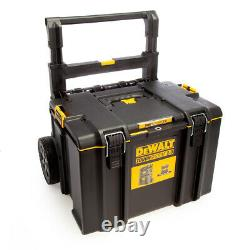 DeWalt DWST83295-1 DS450 Tough System 2.0 Rolling Mobile Tool Storage Box + Hand