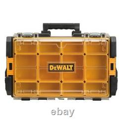 Dewalt Organizer Storage Box Tough System 100 Bucket Tool Case Drill Bit Screw