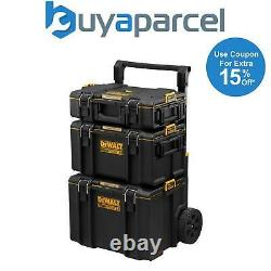 Dewalt Toughsystem 2 DS450 Rolling Mobile Tool Storage Box Trolley DS300 + DS166