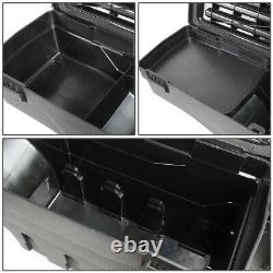 FOR 15-20 FORD F-150 PICKUP TRUCK BED L+R WHEEL WELL STORAGE TOOL BOX WithLOCK