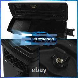 For 07-19 Silverado Sierra Truck Bed Wheel Well Storage Tool Box Side Swing Case