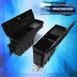 For 15-20 F150 Rear Truck Bed LH+RH Side Wheel Well Storage Tool Box Swing Case