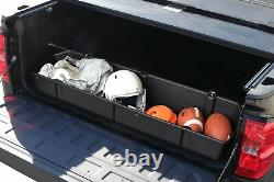 Full Size Truck Bed Storage Cargo Organizer Universal Fit Pickup Container
