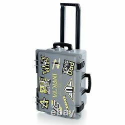 Invicta (50) Slot Impact Resistant Limited Edition Grey Dive Collector Case Cart