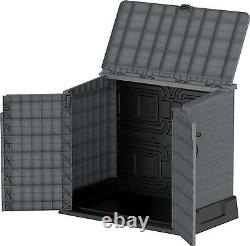 It Out Garden Lockable Storage Box XL Shed Outside Bike Bin Tool 850L NEW