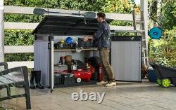 Keter Grande XXL storage box fits 3 bikes/bins 2020L