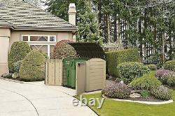 Keter Large Ultra Outdoor Garden Storage Plastic Shed 2000L Bike Waterproof Box