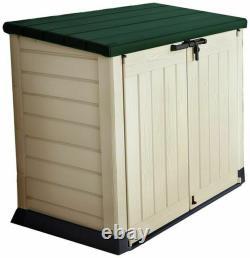 Keter Store It Out Max Garden Lockable Storage Box 1200 Litre Beige/Brown