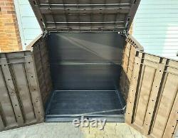 Keter Store It Out Max Large Garden Storage Box 1200L Brown