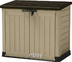 Keter Store It Out Max Outdoor Plastic Lockable Garden Storage Shed 1200L LARGE