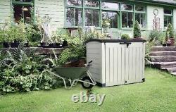 Keter Store-It Out Max Outdoor Plastic Storage Box 1200L FAST DELIVERY