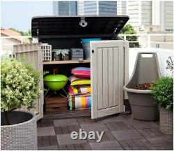 Keter Store It Out Midi 2X4FT 845L Outdoor Garden Storage Shed Box Bins NEW