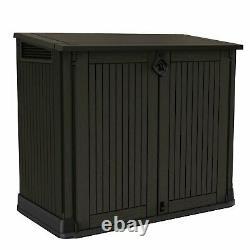 Keter Store It Out Midi Garden Storage Box Brown