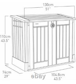 Keter Store It Out Midi Outdoor Plastic Garden Storage Shed. New in Box