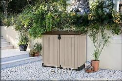 Keter Store It Out PRO Garden Lockable Storage Box XL Shed Outside Bike Bin Tool
