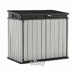 Keter Store It Out Premier Garden Lockable Storage Box 124 x 140cm XL SIZE