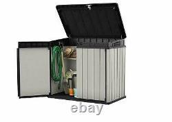 Keter Store It Out Premier Garden Lockable Storage Box 124 x 140cm XL SIZE New