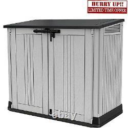 Keter Store Out NOVA Garden Lockable Storage Box XL Shed Outside Bike Bin Tool