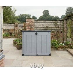 Keter Store it Out Ace Max 1200L Garden Storage Box Shed Grey