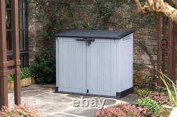 Keter Store it Out Nova Plastic Storage Shed Lockable Tools Garden 880 L Grey