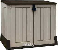 Keter Store it out midi Wood effect Plastic Garden storage box FREE & FAST