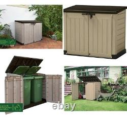 Keter XL Store-It Out Max Outdoor Plastic Garden Storage Shed Keter Storage Box