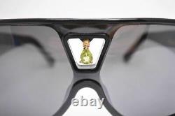 LOUIS VUITTON Sunglasses BINDI Z0063W Black x Gold with Outer Box Storage Bag