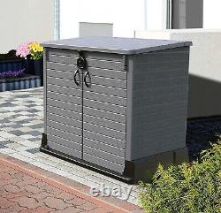 Large Store Garden Lockable Storage Box XL Shed Outside Bike Bin Tool