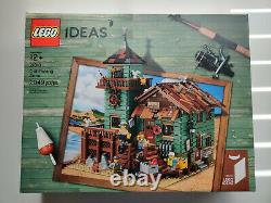 Lego 21310 Old Fishing Store Brand New in Box Damage Free Shipping