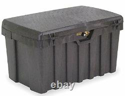 Lockable PRO-TUFF Storage Bin with Fitted Lock Extra Tough BIG 190 Litre Box