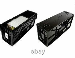 NEW BCW (5) FIVE Long Comic Book Box Storage Bin Plastic Strong DurableStackable