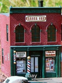 PIKO DAVID'S BARBER SHOP STORE G Scale Building Kit 62219 New in Box