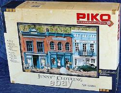 PIKO JENNY'S CLOTHING STORE G Scale Building Kit #62204 New in Box