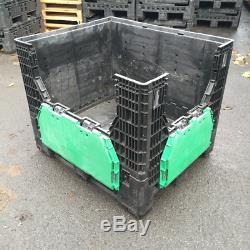 Plastic Storage Folding Pallet Box Container Magnum Flc K975 Grade A 500kg