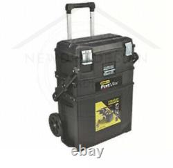 Stanley Fatmax Cantilever Mobile Tool Box, Rolling Portable On Wheels Storage Uk