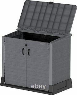 Store it out 850L Garden Lockable Storage Box XL Shed Outside Bike Bin Tool