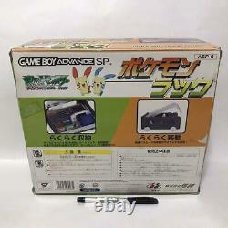 Super Rare Storage BOX Pokemon Rack Nintendo Game Boy Advance SP designated