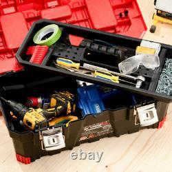 ToughHub 26 Fatbuilt Tool Box With Tote Tray Lockable DIY Tool Storage Box 18