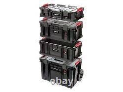 Trend MS/C/SET4C 4pc Compact Modular Storage Cart Set Tool Box Storage System